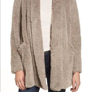 Kenneth Cole Shaggy Fur Jacket